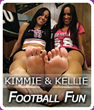 Kimmie's & Kellie's Feature Set @ Wu's Feet Links